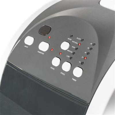 <p>Do you not get enough cooling wind from a fan and find the cost and installation of an air-conditioner too much? The Tristar mobile air cooler is the perfect appliance for you. The air cooler uses cold water to cool the airflow so you can bring down the temperature a few degrees and enjoy a refreshing breeze.</p><p><b>Cools the air by using cold water</b><br>Fill up the 4.5 litre container with (ice) cold water and select one of the five different airflow settings. The colder the water in the container, the colder the distributed air. Perfect for cooling your bedroom a few degrees so you can sleep more comfortably or use the air cooler in a clammy room. </p><p><b>Easy to install</b><br>A big advantage of the Tristar air cooler over an air-conditioner is that it does not generate warm air. You will not have to struggle with a hose or have to make a hole in the wall. The air cooler can easily be moved because of its sturdy castors. Just wheel it to the room where you want to use it in, fill the reservoir up with water and plug it in.  </p><p><b>Energy saving and timer function</b><br>The Tristar air cooler has a timer function range from 1 up to 8 hours so it automatically switches off whenever you want. Use it when you are going to sleep so the air cooler shuts off automatically, for example. Furthermore an air cooler is a lot more energy efficient than an air conditioner, so you can save on your energy bill. </p><p><b>No more dry air</b><br>Because the Tristar air cooler uses cold water to cool the air it does not become dry like when using an air-conditioner. This way you will not suffer from dry eyes or a dry throat. An air cooler is much more suited for people suffering from respiratory problems from dry air.</p><p><b>What should I choose?</b><br>Choose the Tristar air cooler when you want to enjoy a refreshing breeze all around the house without having to install a hose. If you want to cool the room more than a few degrees it is better to choose one of the Tristar air-conditioners. </p><p><b>What's in the box:</b><br>Tristar air cooler, instruction manual, remote control</p><p><b>Reasons to choose the Tristar Air Cooler:</b><ul><li>Cools better than a fan due to the cooling air</li><li>Easy to move thanks to the sturdy castors</li><li>Five different airflow settings and oscillating for a comfortable refreshing airflow</li><li>Easy to operate thanks to the timer function and remote control</li><li>An Air cooler is more energy efficient than an air-conditioner</li></ul>